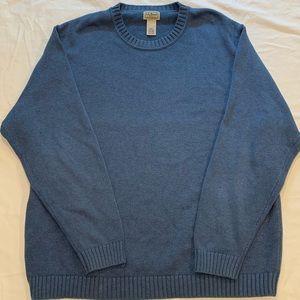 Men's LL Bean Cotton Crewneck Sweater, Size XXL
